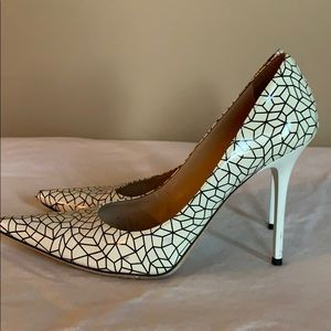 Jimmy Choo Abel pattern pumps